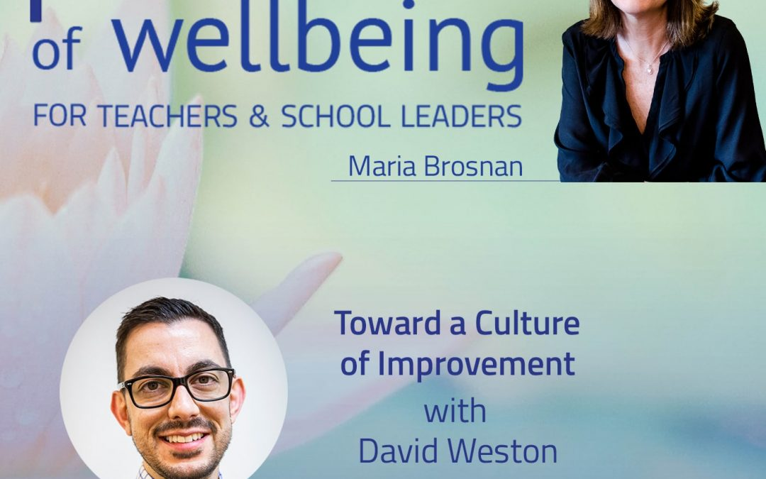 Towards a Culture of Improvement with David Weston